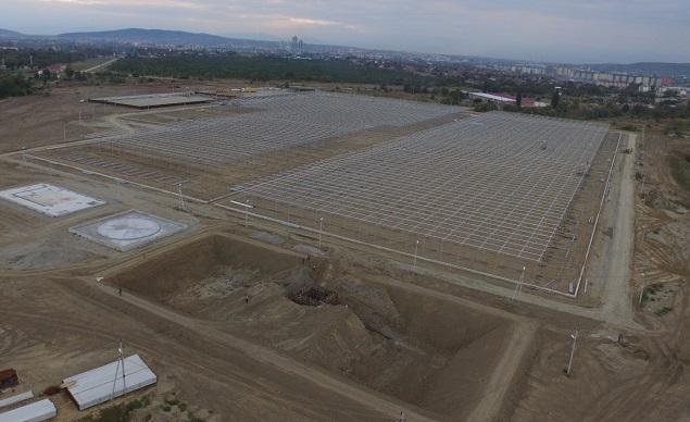 ВГрозном реализуется масштабный инвестпроект построительству тепличного комплекса