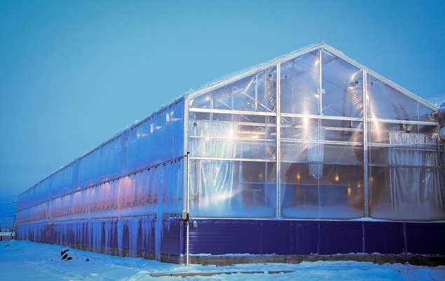 Юрию Трутневу понравился экспериментальный тепличный комплекс впригороде Якутска