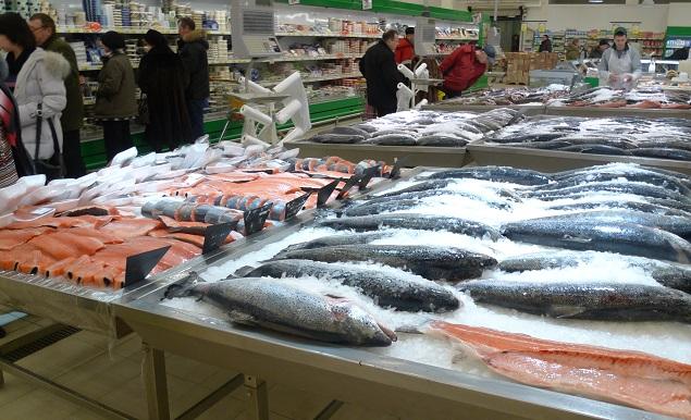 Доля русской рыбы наприлавках достигла 83%